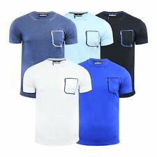 Duck & Cover Plain Mens T Shirt Cotton Graphic Crew Neck Short Sleeve Tee