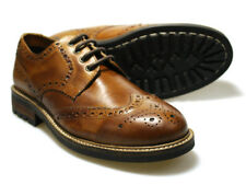 Red Tape FELCE Marrone Uomo Scarpe brogue in pelle UK 7 - 12