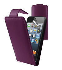 LEATHER WALLET FLIP CASE COVER FOR APPLE IPOD TOUCH 5TH 4TH GEN + FREE PROTECTOR