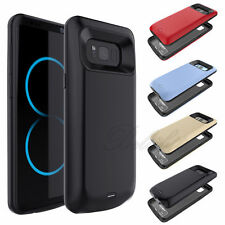 5500mah External Power Bank Cover Battery Charger Case For Samsung S8