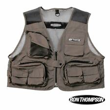 Ron Thompson Mesh Lite Fly Fishing Vest Adjustable Waist Size