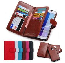For Samsung Galaxy Note 8 S8 S7 Dual Shockproof Flip Wallet leather Ca