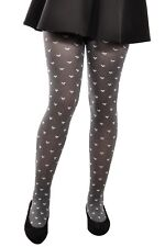 Hosiery Kids Grey Patterned Tights Girls Pola by Gabriella 4-12 years