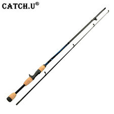 """2 pointe spinning canne à pêche 7 """"M actions 6-12g leurre poids Lure Casting"""