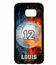 PERSONALIZED NAME NUMBER VOLLEYBALL PHONE Case For Samsung Galaxy S8 S