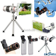 Clip-on 12x 8x 18x Optical Zoom HD Selescope Camera Lens For iPhone7