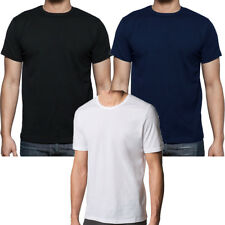 Mens Big Sizes Short Sleeve Crew Neck Cotton Summer Large T-Shirt 2XL to 8XL ...