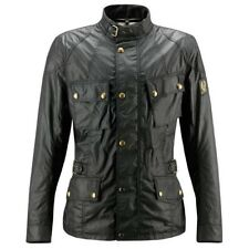 Belstaff Crosby Wax Motorcycle Jacket - Black - All Sizes