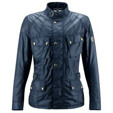 Belstaff Crosby Wax Motorcycle Jacket - Navy - All Sizes