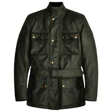 Belstaff Tourist Trophy Wax Motorcycle Jacket - British Racing Green - All Sizes