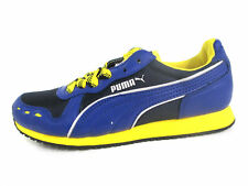 Puma 350420-03 Cabana Racer Ladies Navy/Dandelion Trainer UK 3.5 & 4 (R40A)(Kt)