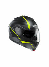 Casco HJC Modulare Apribile IS-MAX II MINE MC4HSF Nero Giallo Fluo