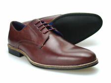 Red Tape Shannon rouge foncé homme chaussures cuir 6-12 UK