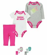 SPORTIVO Nike Debut Set Baby Girls Dk.Grey Heath