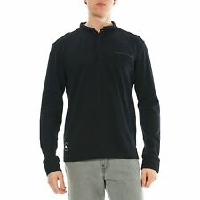 Deeluxe - Lord - Polo manches longues - noir