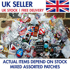 5 - 1000 Wholesale ASSORTED Patches Iron on Sew on Embroidered Badge Applique UK