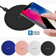 Fast Qi Wireless Charging Charger Dock Pad For iPhone X 8 Samsung Galaxy S8 S7