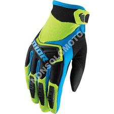 Guanti Glove Cross Enduro Quad Bimbo Thor Tessuto Youth Spectrum Verde Nero Blu