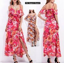 Vestito Lungo Casual Copricostume Donna Woman Cover Up Maxi Dress 110261 -- 2