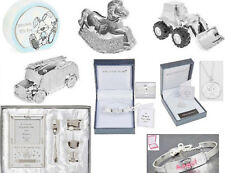 *CHRISTENING GIFTS, BABY GIFTS, SILVER PLATED MONEY BOXES
