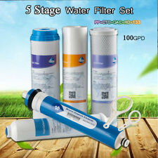 Full Reverse Osmosis Water Filter Set RO Cartridges for 5 Stage System Universal