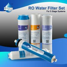 5 Stage Home Drinking Reverse Osmosis System Full Filters for iSpring RCC7 Best