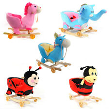 Rocking Chair Baby Musicale Animale a Dondolo Sedia Bambino Giocattolo Kid Toys