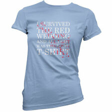 I SURVIVED THE RED BODA - Mujer / Camiseta Mujer - TV-11 Colores
