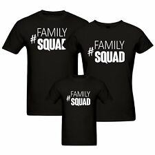 Family Squad - Matching Family T-shirt - Set of 3