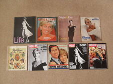 Diana Princess of Wales Magazines – Hello! / Radio Times / Mail / Observer Times