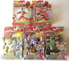 Power Rangers action figures, Megazord, Red ranger, Green tiger, white claw etc