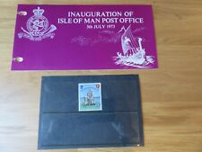 ISLE OF MAN STAMPS PRESENTATION PACKS - MINT CONDITION - 1973 - 1979