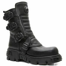 NEWROCK New Rock M.391x S2 Mens/ Womens Ankle Goth Rock Boots
