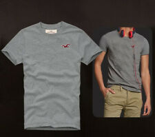 Abercrombie & Fitch Summer Men Muscle fit Grey T-shirt Tee Size S-XXL