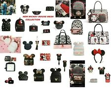 DISNEY MICKEY MINNIE MOUSE WITH EARS BACKPACK HAND BAG PURSE PRIMARK