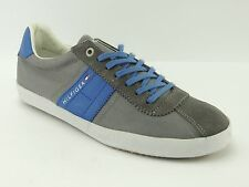 TOMMY HILFIGER SNEAKER SCARPE UOMO TURN Lifestyle Suede Playoff UK 8 TGL 42