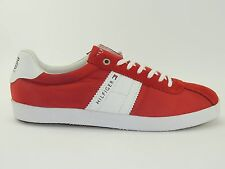 TOMMY HILFIGER SNEAKER SCARPE UOMO TURN Lifestyle Suede playyoff UK 8 TGL 42