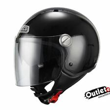CASCO NZI CAPITAL DUO NEGRO BRILLANTE CON GAFAS INTERIORES