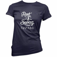 RENT A Swag Pawnee INDIANA - Mujer / Camiseta Mujer - 11 Colores - TV