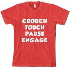 accroupi Tactile Pause ENGAGE - Homme T-shirt - Rugby / Union league 10 couleurs