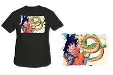 MAGLIETTA DRAGON BALL KID GOKU NERO tshirt custom IT