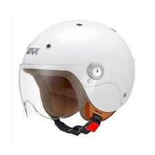 GIVI casque jet moto scooter JUNIOR 3 enfant blanc brillant