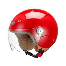 GIVI casque jet moto scooter JUNIOR 3 enfant rouge brillant