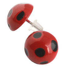 Simil Ladybug Orecchini Carnevale Donna Bimba Cosplay Lady Bug Earrings LBUEAR01