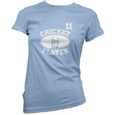 Cricket Player 11 - Mujer / Camiseta Mujer - Cricket - Regalo - 11 Colores