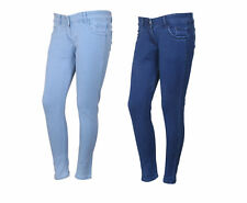 IndiWeaves Women's Low Waist Blue Skinny Jeans Pack of 2 (71900-0304-IW-P2)