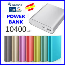 BATERIA Externa POWER BANK 10400 mAh Alta Calidad Led de carga + cable USB
