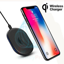 Qi Wireless Charging Charger Silm Dock Pad For Samsung Galaxy iPhone X S8 Plus