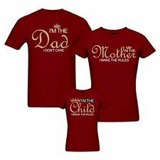 Rules - Matching Family T-shirt - Set of 3