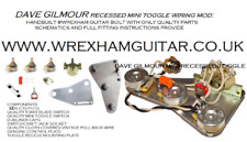 STRAT STRATOCASTER WIRING MODS GILMOUR HENDRIX SRV JOHNSON AND MANY MORE